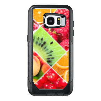 Colorful Fruit Collage Pattern Design OtterBox Samsung Galaxy S7 Edge Case