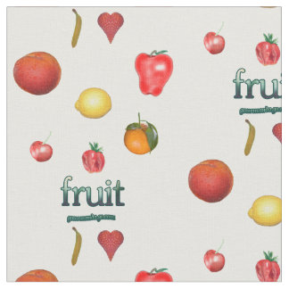 Colorful Fruit Fabric