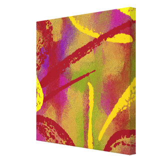 Colorful fun Abstract Canvas Prints