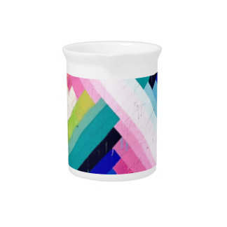 COLORFUL FUN DESIGN PITCHER