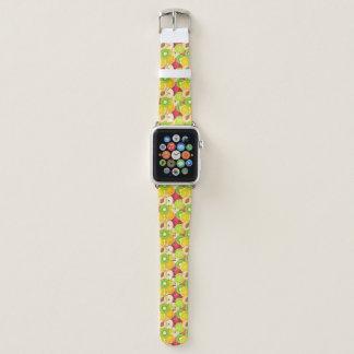 Colorful Fun Fruit Pattern Apple Watch Band