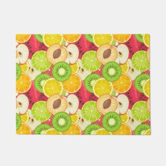 Colorful Fun Fruit Pattern Doormat