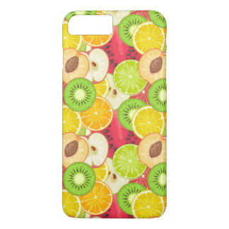 Colorful Fun Fruit Pattern iPhone 8 Plus/7 Plus Case