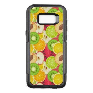 Colorful Fun Fruit Pattern OtterBox Commuter Samsung Galaxy S8+ Case