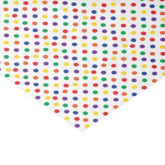 Colorful Fun Polka Dots Tissue Paper