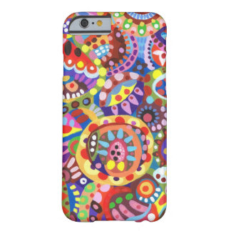 Colorful Funky Art iPhone 6 case Barely There iPhone 6 Case