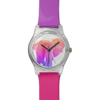 Colorful Funky Elephant Watch