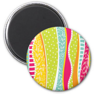 Colorful Funky Magnet
