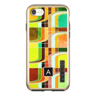 Colorful Funky Retro Inspired Incipio DualPro Shine iPhone 8/7 Case