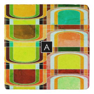 Colorful Funky Retro Inspired Trivet