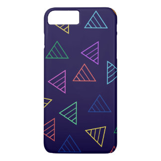 colorful funky triangles iPhone 7 plus case