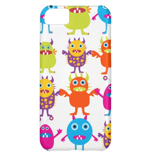 Colorful Funny Monster Party Creatures Bash iPhone 5C Cover