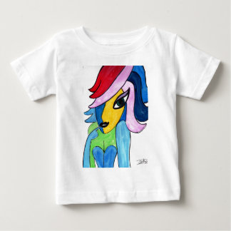 Colorful Gal Baby T-Shirt