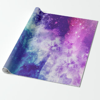 Colorful Galaxy Wrapping Paper