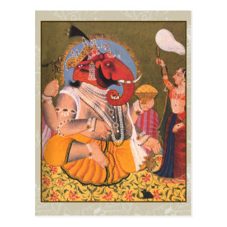 Colorful Ganesh Artwork on Cards