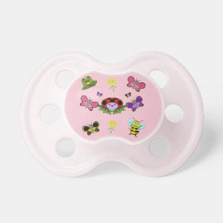 Colorful Garden Baby Pacifier