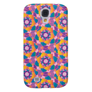 Colorful Garden of the Chakras Yoga Om Inspiration Samsung Galaxy S4 Case