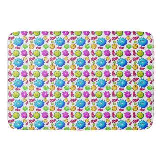 Colorful Gems Pattern Bath Mat