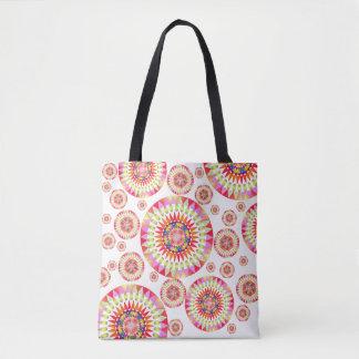 Colorful Geo' Tote Bag