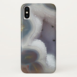 Colorful Geode Crystal iPhone X Case