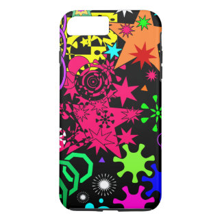 Colorful Geometric Abstract Art iPhone 7 Plus Case