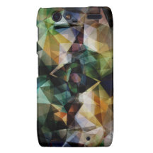Colorful Geometric Abstract Motorola Droid RAZR Covers