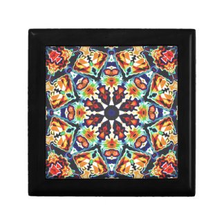 Colorful Geometric Abstract Gift Box