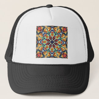 Colorful Geometric Abstract Trucker Hat