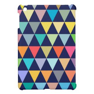Colorful geometric case for the iPad mini