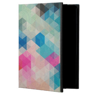 Colorful Geometric Cubes With Paisley Overlay Powis iPad Air 2 Case