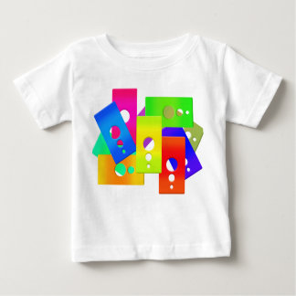 Colorful Geometric Design Baby T-Shirt