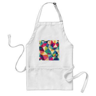 Colorful Geometric Kaleidoscope Standard Apron