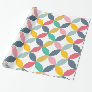Colorful Geometric  Modern Pattern Wrapping Paper