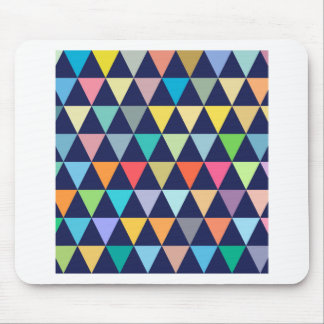Colorful geometric mouse pad