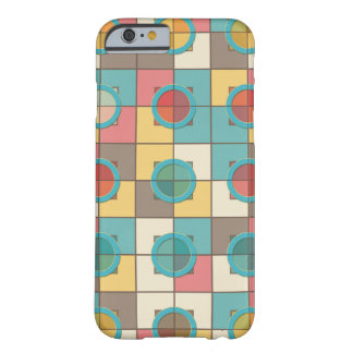 Colorful geometric pattern barely there iPhone 6 case