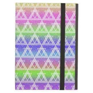 Colorful Geometric Pattern iPad Air Cover