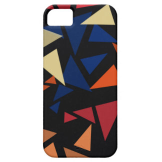 Colorful geometric pattern iPhone 5 cases