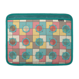 Colorful geometric pattern sleeve for MacBook air