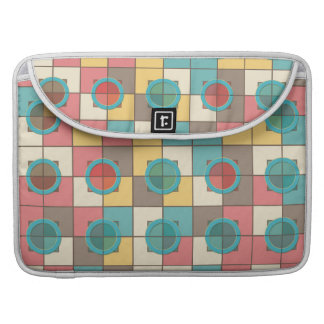 Colorful geometric pattern sleeve for MacBook pro