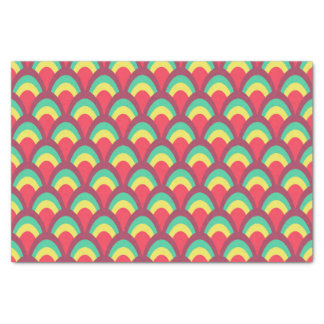 Colorful Geometric Pattern Tissue Paper