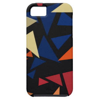 Colorful geometric Shapes iPhone 5 Cover