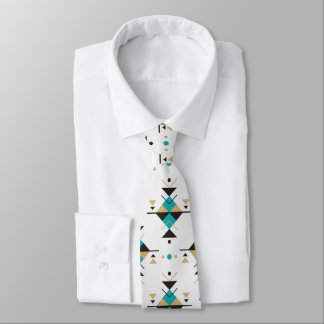 Colorful Geometric Southwestern Tribal Pattern Tie