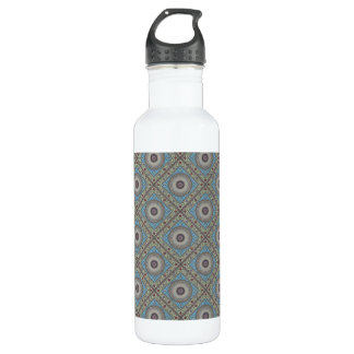 Colorful Geometric Tapestry Customizable 710 Ml Water Bottle