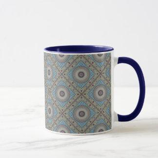Colorful Geometric Tapestry Customizable Mug