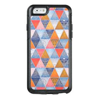 Colorful geometric triangles mandalas pattern OtterBox iPhone 6/6s case