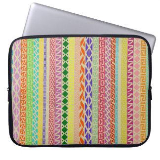 Colorful Geometric / Tribal Laptop Sleeve 15 inch