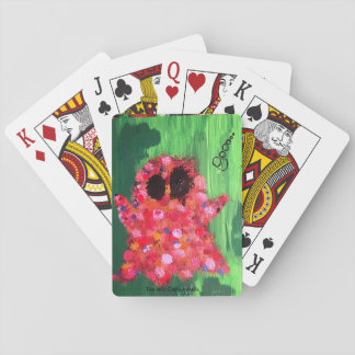 Colorful Ghost Poker Deck