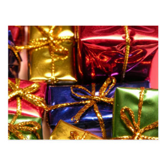 Colorful Gifts Postcard