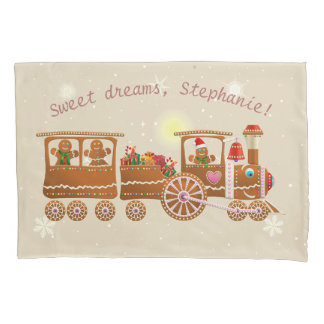Colorful Gingerbread Cookies Pillowcase