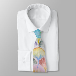 Colorful Ginkgo leaves#1 Tie